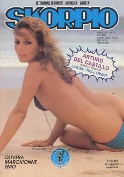 Copertina SKORPIO ANNO  9 n.17 - SKORPIO 1985            17, EDITORIALE AUREA