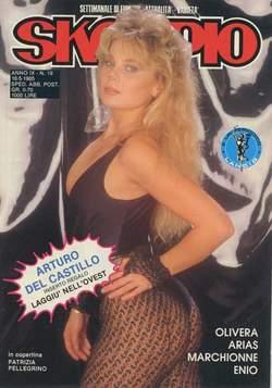 Copertina SKORPIO ANNO  9 n.19 - SKORPIO 1985            19, EDITORIALE AUREA