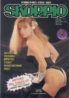 Copertina SKORPIO ANNO  9 n.21 - SKORPIO 1985            21, EDITORIALE AUREA