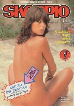 Copertina SKORPIO ANNO  9 n.22 - SKORPIO 1985            22, EDITORIALE AUREA
