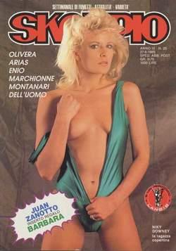Copertina SKORPIO ANNO  9 n.25 - SKORPIO 1985            25, EDITORIALE AUREA