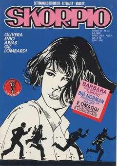 Copertina SKORPIO ANNO  9 n.31 - SKORPIO 1985            31, EDITORIALE AUREA