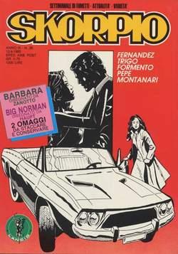 Copertina SKORPIO ANNO  9 n.36 - SKORPIO 1985            36, EDITORIALE AUREA