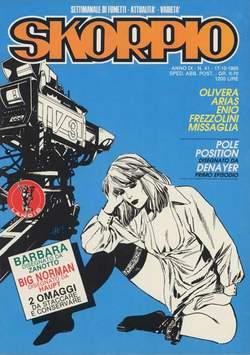 Copertina SKORPIO ANNO  9 n.41 - SKORPIO 1985            41, EDITORIALE AUREA