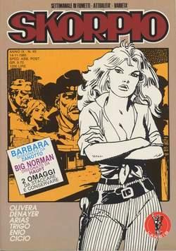Copertina SKORPIO ANNO  9 n.45 - SKORPIO 1985            45, EDITORIALE AUREA