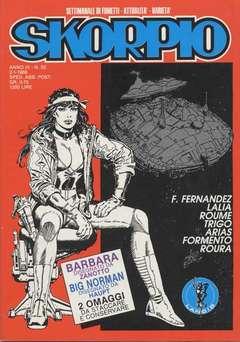 Copertina SKORPIO ANNO  9 n.52 - SKORPIO 1985            52, EDITORIALE AUREA