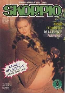 Copertina SKORPIO ANNO  9 n.8 - SKORPIO 1985             8, EDITORIALE AUREA
