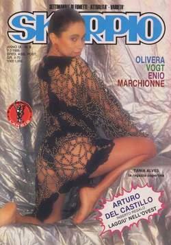 Copertina SKORPIO ANNO  9 n.9 - SKORPIO 1985             9, EDITORIALE AUREA