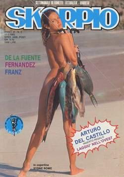 Copertina SKORPIO ANNO  9 n.2 - SKORPIO 1985             2, EDITORIALE AUREA