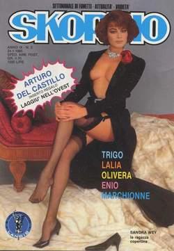 Copertina SKORPIO ANNO  9 n.3 - SKORPIO 1985             3, EDITORIALE AUREA