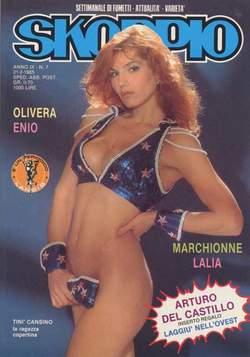 Copertina SKORPIO ANNO  9 n.7 - SKORPIO 1985             7, EDITORIALE AUREA