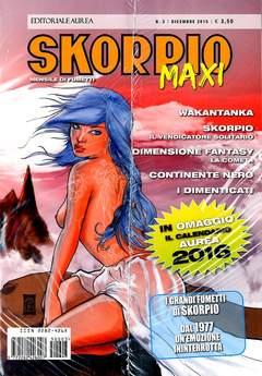 Copertina SKORPIO MAXI n.3 - SKORPIO MAXI, EDITORIALE AUREA