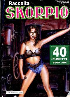 Copertina SKORPIO RACCOLTA n.256 - SKORPIO RACCOLTA           256, EDITORIALE AUREA