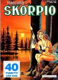 Copertina SKORPIO RACCOLTA n.257 - SKORPIO RACCOLTA           257, EDITORIALE AUREA