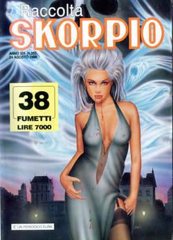 Copertina SKORPIO RACCOLTA n.263 - SKORPIO RACCOLTA           263, EDITORIALE AUREA