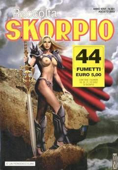 Copertina SKORPIO RACCOLTA n.351 - SKORPIO RACCOLTA           351, EDITORIALE AUREA