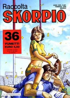 Copertina SKORPIO RACCOLTA n.381 - SKORPIO RACCOLTA           381, EDITORIALE AUREA