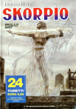 Copertina SKORPIO RACCOLTA n.543 - SKORPIO RACCOLTA, EDITORIALE AUREA