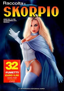 Copertina SKORPIO RACCOLTA n.566 - SKORPIO RACCOLTA, EDITORIALE AUREA