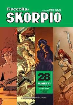 Copertina SKORPIO RACCOLTA n.581 - SKORPIO RACCOLTA (2235/2238), EDITORIALE AUREA