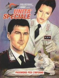Copertina UNITA' SPECIALE n.11 - PASSWORD PER L'INFERNO, EDITORIALE AUREA
