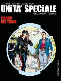 Copertina UNITA' SPECIALE II serie n.5 - PARCO DEL TIGLIO, EDITORIALE AUREA
