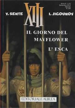 Copertina XIII n.10 - IL GIORNO DEL MAYFLOWER - L'ESCA, EDITORIALE AUREA