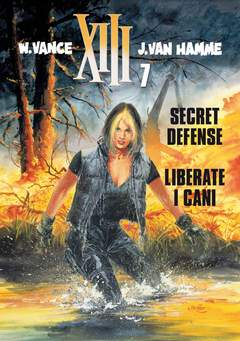 Copertina XIII n.7 - SECRET DEFENSE/ LIBERATE I CANI, EDITORIALE AUREA
