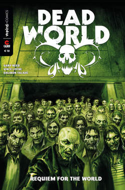 Copertina DEAD WORLD Variant Cover n.1 - REQUIEM PER IL NUOVO MONDO, EDITORIALE WEIRD BOOK