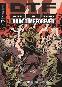 Copertina DTF n. - DOIN'TIME FOREVER, EDITORIALE WEIRD BOOK