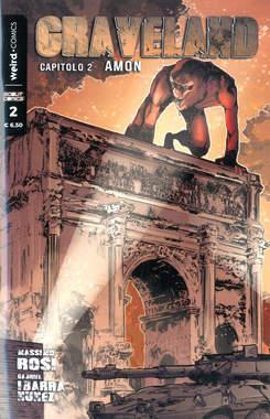 Copertina GRAVELAND n.2 - GRAVELAND, EDITORIALE WEIRD BOOK