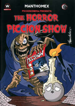 Copertina HORROR PICCION SHOW n.1 - PICCIONCINEMA, EDITORIALE WEIRD BOOK