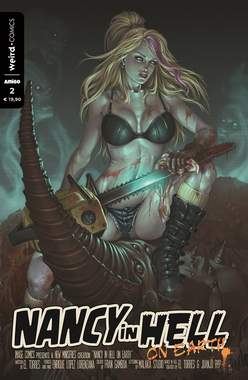 Copertina NANCY IN HELL (m4) n.2 - Weird Comics, EDITORIALE WEIRD BOOK