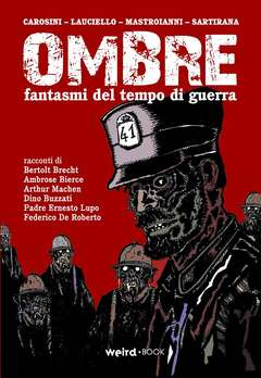 Copertina OMBRE n. - FANTASMI DEL TEMPO DI GUERRA, EDITORIALE WEIRD BOOK