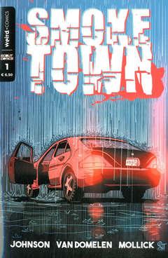 Copertina SMOKE TOWN n.1 - SMOKE TOWN, EDITORIALE WEIRD BOOK
