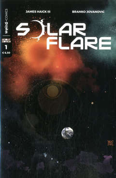 Copertina SOLAR FLARE n.1 - SOLAR FLARE, EDITORIALE WEIRD BOOK