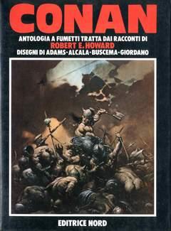 Copertina NORD A FUMETTI n.1 - CONAN ANTOLOGIA FUMETTI 1983, EDITRICE NORD