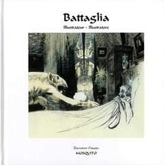 Copertina BATTAGLIA ILLUSTRATORE n. - TESTO IN FRANCESE E ITALIANO, EDIZIONI DI