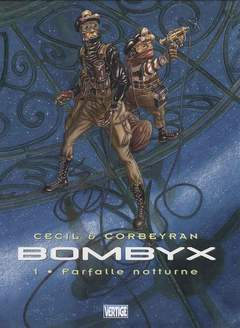 Copertina BOMBYX n.1 - FARFALLE NOTTURNE VERTIGE, EDIZIONI DI