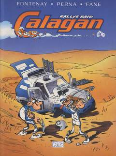 Copertina CALAGAN n.1 - RALLYE RAID, EDIZIONI DI