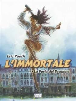 Copertina IMMORTALE VERTIGE n.1 - PERLA DEL DRAGONE, EDIZIONI DI