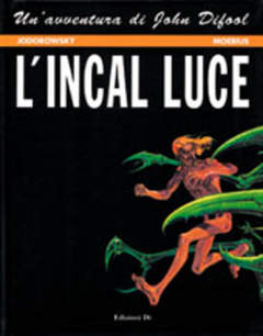 Copertina INCAL n.2 - L'INCAL LUCE, EDIZIONI DI