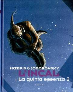 Copertina INCAL n.6 - LA QUINTA ESSENZA 2, EDIZIONI DI