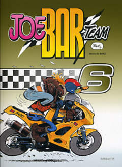 Copertina JOE BAR TEAM CARTONATO n.6 - JOE BAR TEAM, EDIZIONI DI