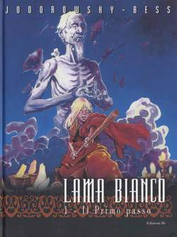 Copertina LAMA BIANCO n.1 - IL PRIMO PASSO, EDIZIONI DI