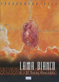 Copertina LAMA BIANCO n.3 - TERZO ORECCHIO, EDIZIONI DI