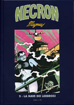 Copertina NECRON (m14) n.2 - LA NAVE DEI LEBBROSI, EDIZIONI DI