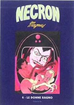 Copertina NECRON (m14) n.4 - NECRON, EDIZIONI DI