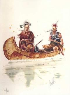 Copertina PORTFOLIO PASSAGGIO A N-OVEST n.1 - INDIANI, EDIZIONI DI