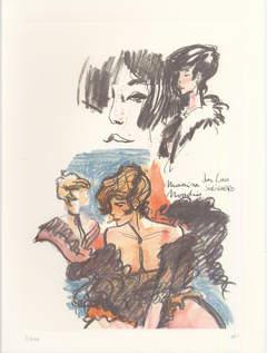 Copertina PORTFOLIO PRATT n.3 - FAREWELL LADIES - 10 TAVOLE, EDIZIONI DI
